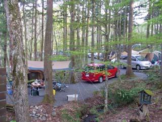 道志 キャンプ 場